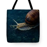 Blue Snail Tote Bag