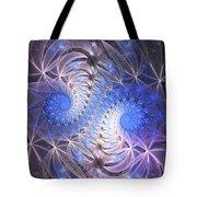 Blue Snails Tote Bag