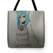 Blue Snazzy Tote Bag