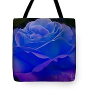 Blue Softness Tote Bag