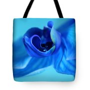 Blue Solitude Tote Bag
