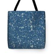 Blue Speckle Tote Bag