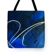 Blue Speed Tote Bag