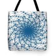 Blue Spins Tote Bag