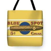 Blue Spot Cigars Tote Bag