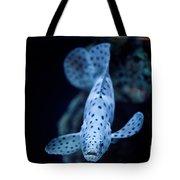 Blue Spotted Aquarium Fish Tote Bag