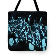 Blue Sprout 3 Tote Bag