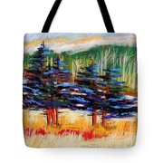 Blue Spruce Stand Tote Bag