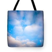 Blue Square Tote Bag by Konstantin Dikovsky