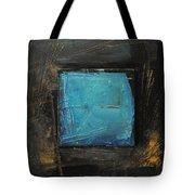 Blue Square Tote Bag