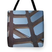 Blue Stairs Tote Bag