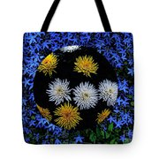 Blue Star Universe Tote Bag