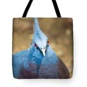 Blue Stare Tote Bag