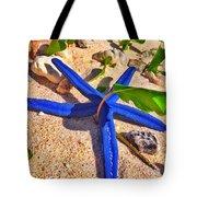 Blue Starfish Tote Bag