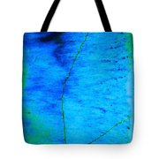Blue Stone Abstract Tote Bag