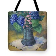 Blue Summer Tote Bag