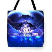 Blue Summit Tote Bag