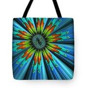 Blue Sun Tote Bag
