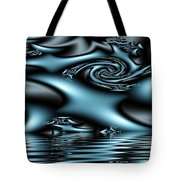 Blue Sun Tote Bag