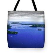 Blue Sydney Harbour Tote Bag