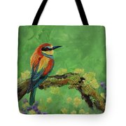 Blue Tailed Bee Eater Tote Bag