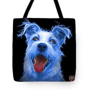 Blue Terrier Mix 2989 - Bb Tote Bag