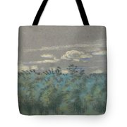Blue Thicket Tote Bag