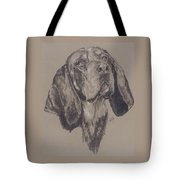 Blue Tick Coonhound Tote Bag