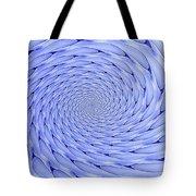 Blue Tip Whirlpool Tote Bag
