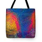 Blue Tornado 3 Tote Bag
