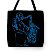 Blue Trane Tote Bag