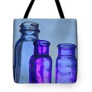 Blue Trio Tote Bag