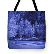 Blue Vail Tote Bag
