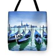 Blue Venice Tote Bag