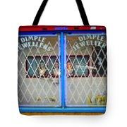 Blue View Tote Bag