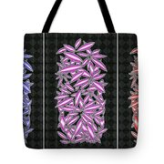 Blue Violet And Red Tote Bag
