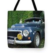 Blue Volvo Tote Bag