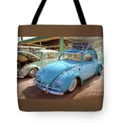Blue Vw Tote Bag