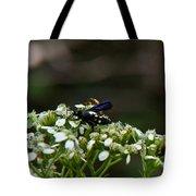 Blue Wasp 1 Tote Bag
