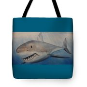 Blue Water, White Death Tote Bag