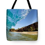 Blue Wave - Makena Beach Tote Bag