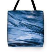 Blue Wave Water Tote Bag