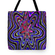 Blue White And Red Abstract #2944e2c Tote Bag