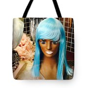 Blue Wilderness Tote Bag