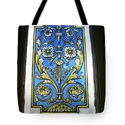 Blue Window Tote Bag