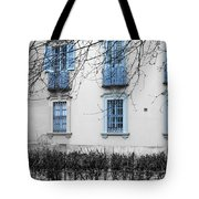 Blue Windows And Balconies Tote Bag