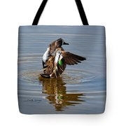 Blue Winged Teal 4 Tote Bag