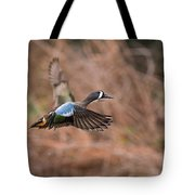 Blue Winged Teal Tote Bag