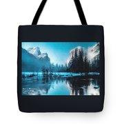 Blue Winter Fantasy. L A Tote Bag