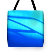 Blue Winter Shadows  Tote Bag